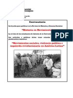 Convocatoria Revista Historia en Movimiento 2013