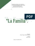 Ensayo Sobre La Familia