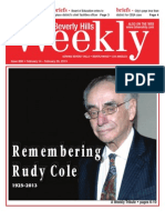 Remembering Rudy Cole