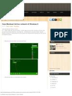 Cara Membuat Ad-Hoc Network Di Windows 8