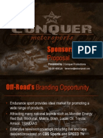 Lucas Oil Racing Sponsorship