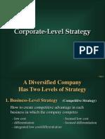 Corporate Level