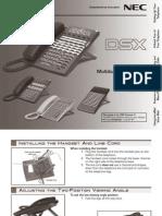 Desktop Telephone User Guide