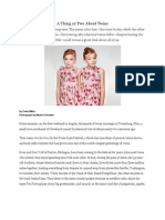 A Thing or Two About Twins - National Geographic