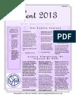 February & March 2013 Newsletter
