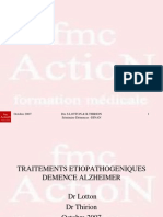 10.Traitements Etiopathogeniques Demence Alzheimer