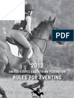 2012 USEF Rules for Eventing