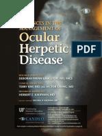 Ocular Herpetic Disease