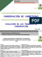 Evolucion de La Conservacion