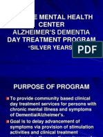 Day Treatment Program Silver Years