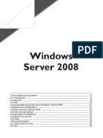 Tout Windows Server 2008 en PDF