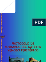 protocoloCATETER PERIFERICO