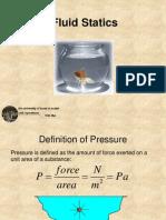fluid statics ppt