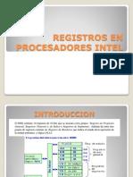 Registros en Procesadores Intel
