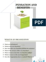 Compensation and Benefits