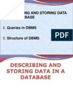 Lec-2 Describing & Storing Data in Database