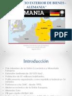 Comercio Exterior de Bs de Alemania Vd