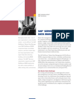 SAP Services for Master Data Management