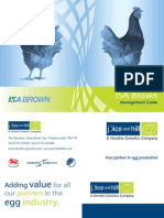 ISA Brown Management Guide