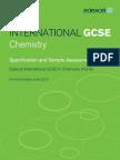 UG030031 International GCSE in Chemistry Master Booklet Spec SAMs for Web 221211