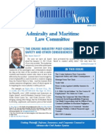 2013 Winter Newsletter - ABA Admiralty & Maritime Law Committee