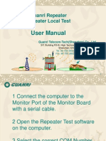 Lacal Test Manual