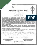 Pfarrer Engelbert Kreft