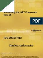 Dot net Framework(ppt)