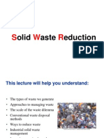 Solid Waste Reduction 7.8.12