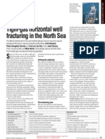 Tight-Gas Horizontal Well Fracturing in the North Sea