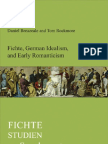 Rockmore, T. - Fichte, German Idealism, And Early Romanticism 2010