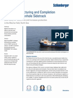 Multistage Fracturing and Completion for Subsea Openhole Sidetrack