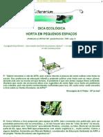 7050721 DICA ECOLOGICA Horta Em Pequenos Espacos