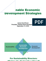 Sustainable Economic Development Strategies