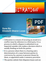 Sharon Arbitration