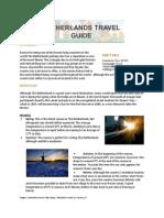 Hotels4u Netherlands Travel Guide
