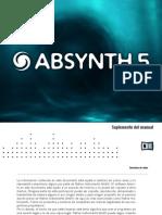 Absynth 5 Manual Addendum Spanish