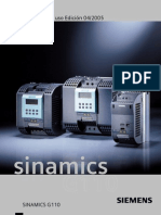Manual Del Usuario Sinamics g110