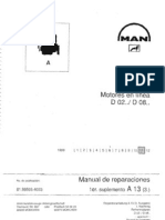Manual Motores MAN D02 - D08