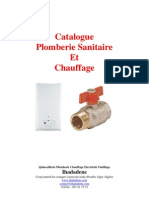 Catalogue Plomberie