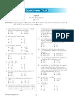 Test Matematik Tingkatan 2