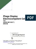 Elektrocompetent Cells