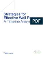 Strategies for Effective Wall Posts - Timeline Analysis