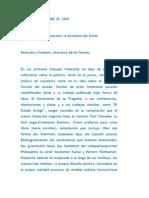 NGV.. 2009 11 29 Nietzsche Contra Rousseau La Dictadura Del Genio
