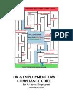 HR Employment Law Compliance Guide AZ Employers