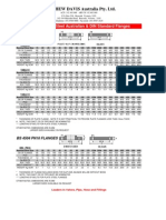 Flange Data Sheet