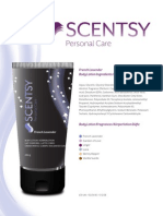 Scentsy Personal Care Ingredients List