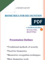 a86eseminaronbiometrics-110515034825-phpapp02