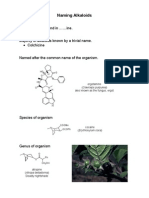 CM3101 Alkaloids II