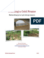 Building a Cold Frame